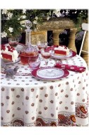 Tablecloth Maianenco White Les Olivades