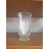 Biot Glassware Hurricane Lamp 8 inches