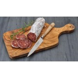 Olive wood small cheese board