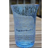 Biot acrylic glass large tumbler Med Blue