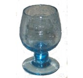 Biot balloon glass - Blue
