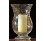Biot glassware Hurricane lamp - Clear